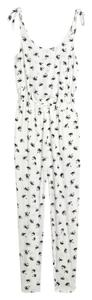 Madewell Palm Print Summer Adjustable Dress