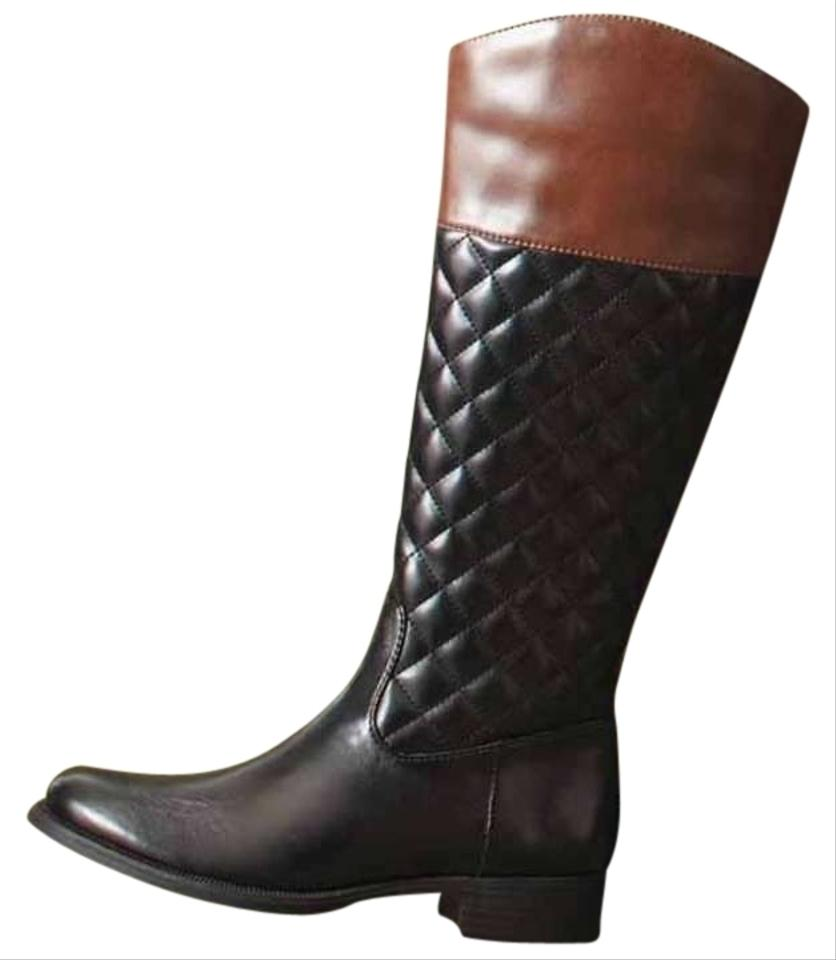 apt 9 black and chocolate brown boots size 9 tradesy