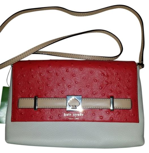 Preload https://item2.tradesy.com/images/kate-spade-new-york-houston-street-loula-two-tone-exotic-hot-rosecream-leather-cross-body-bag-4002241-0-0.jpg?width=440&height=440