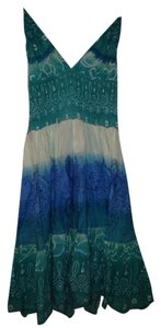Aqua Maxi Dress by Geri C New York