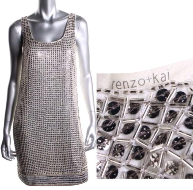 Preload https://item4.tradesy.com/images/renzo-and-kai-silver-white-mid-length-cocktail-dress-size-4-s-4002313-0-0.jpg?width=400&height=650