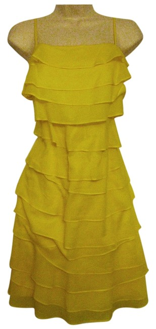 Preload https://item4.tradesy.com/images/calvin-klein-spaghetti-strap-dress-yellow-4002463-0-0.jpg?width=400&height=650