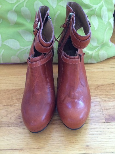 Anthropologie Cider Brown Boots