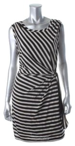 Guess short dress black /Off White on Tradesy