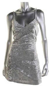 Silver Maxi Dress by French Corner