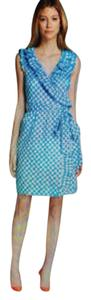 Kate Spade short dress Blue Check on Tradesy