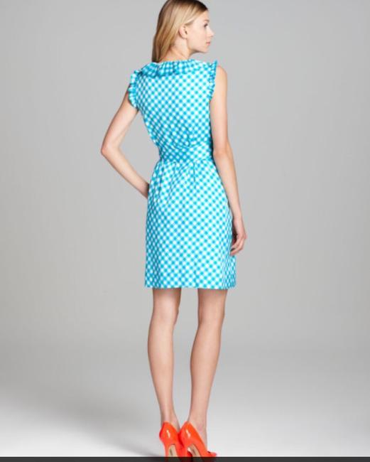 Kate Spade short dress Blue Check And White Brunch on Tradesy