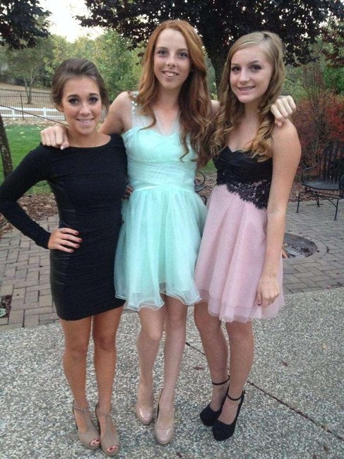 Alex & Sophia Cute Homecoming Sparkle Dress