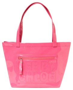 See by Chlo Tote in Hot Pink
