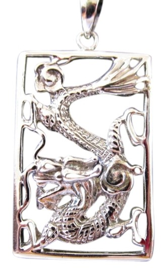 Preload https://item3.tradesy.com/images/18k-white-gold-plating-over-sterling-silver-dragon-pendant-charm-4004257-0-0.jpg?width=440&height=440