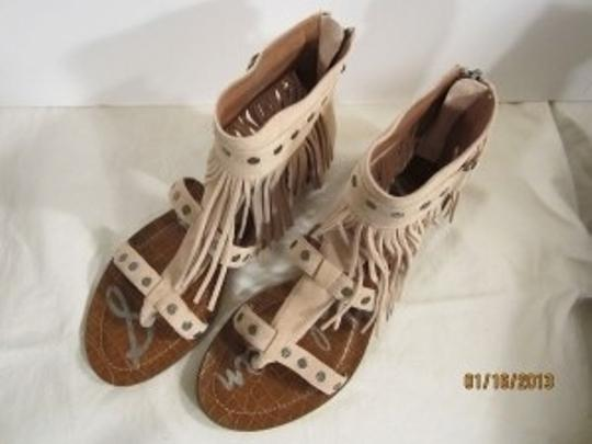 Sam Edelman Light Tan Sandals