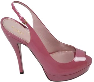 Gucci Vintage Dark Pink Pumps