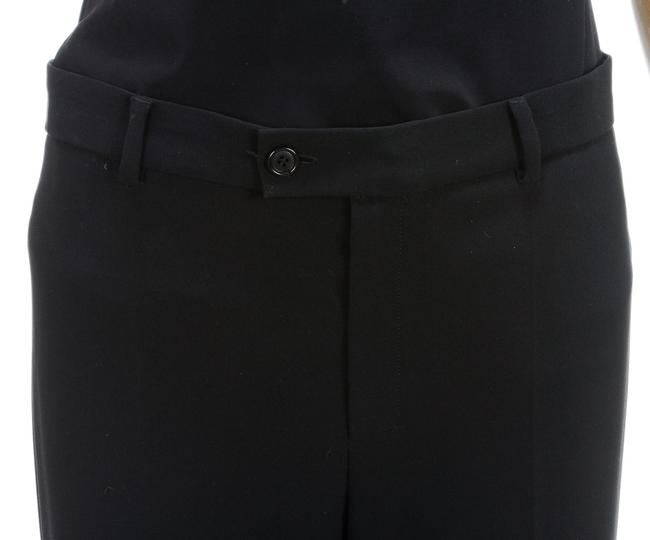 Max Mara Straight Pants Black