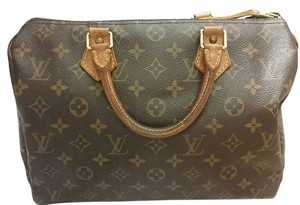 Louis Vuitton Tote in Monogram Speedy 35