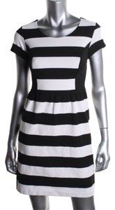INC International Concepts short dress Black White on Tradesy