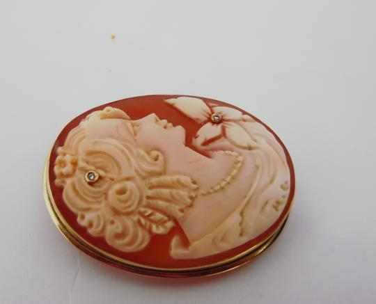 """AMEDEO AMEDEO Scognamiglio 14Kt """"Lady with Pearls"""" Cameo"""