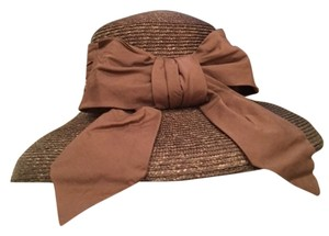 Betmar Brown hat with bow