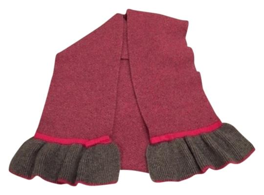 Other Long pink and grey soft scarf