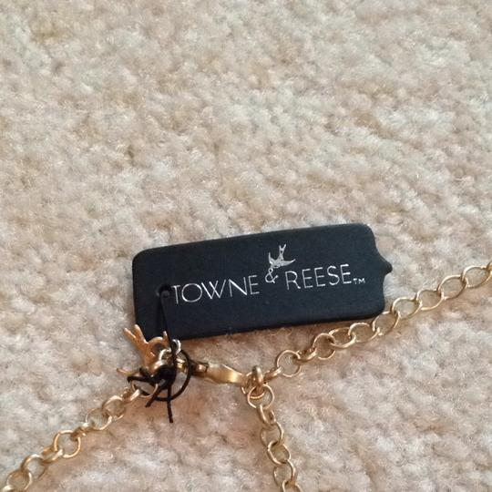 Towne & Reese Towne & Reese Black Diamond Statement Necklace