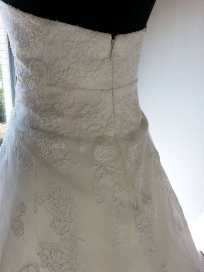 Enzoani Ivory Tulle Gertrude Feminine Wedding Dress Size 16 (XL, Plus 0x)