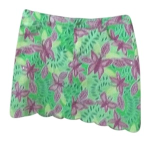 Lilly Pulitzer Skirt Pink, green