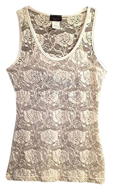 Preload https://img-static.tradesy.com/item/400792/sheer-white-stretch-lace-babygirl-logo-tank-night-out-top-size-4-s-0-0-650-650.jpg