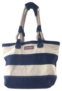 Vineyard Vines Tote in Navy And White