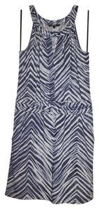 BCBGMAXAZRIA Halter Bcbg Animal Print Dress