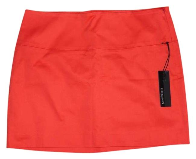 Item - Bright Tangerine Skirt Size 6 (S, 28)