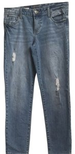 KUT from the Kloth Boyfriend Cut Jeans-Light Wash