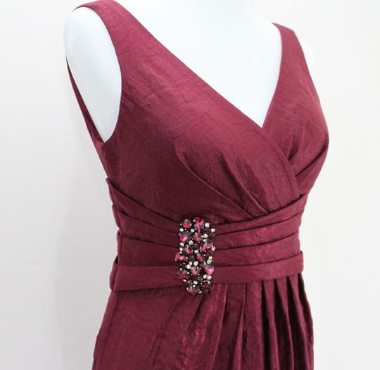 Jessica Howard Maroon Jessica Howard Cocktail Dress Dress
