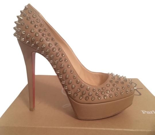 Preload https://item3.tradesy.com/images/christian-louboutin-beige-bianca-leather-spiked-eu-395-pumps-size-us-9-4008832-0-2.jpg?width=440&height=440