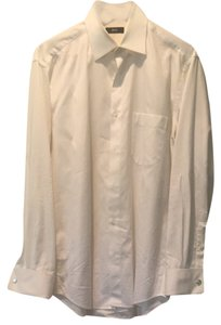 Hugo Boss Button Down Shirt White