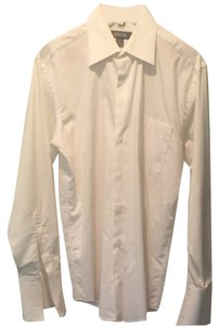 Kenneth Cole Button Down Shirt White