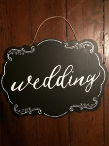 4 Chalkboard Wedding Signs Wedding Reception Cocktails
