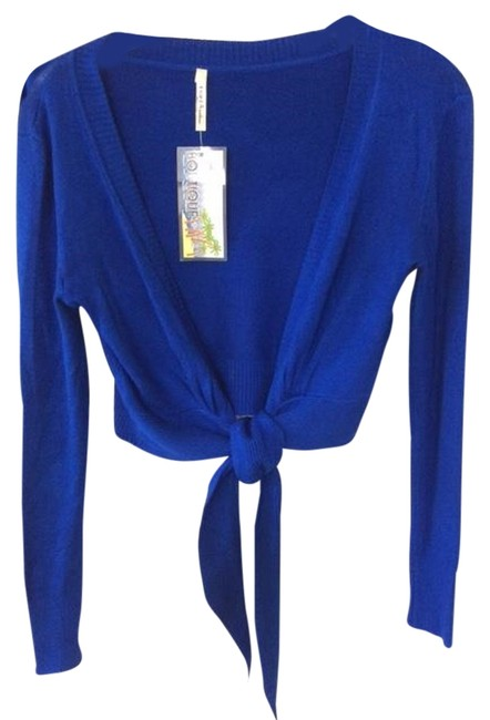India Boutique Front Tie Sweater