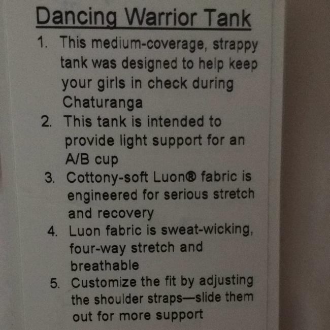 Lululemon Dancing Warrior Tank