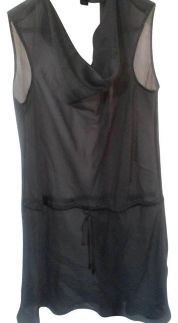 Preload https://item4.tradesy.com/images/kenneth-cole-silver-tunic-size-2-xs-400968-0-0.jpg?width=400&height=650
