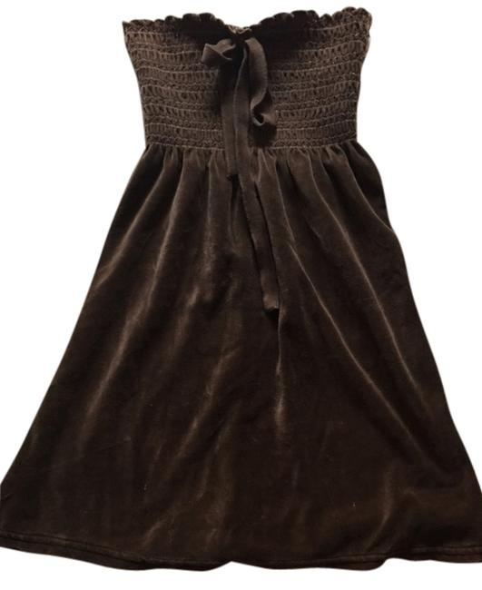 Juicy Couture Velour Juicy Couture Swim Cover-up In Brown.