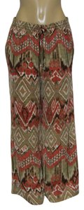 Jones New York Wide Leg Pants MULTICOLOR