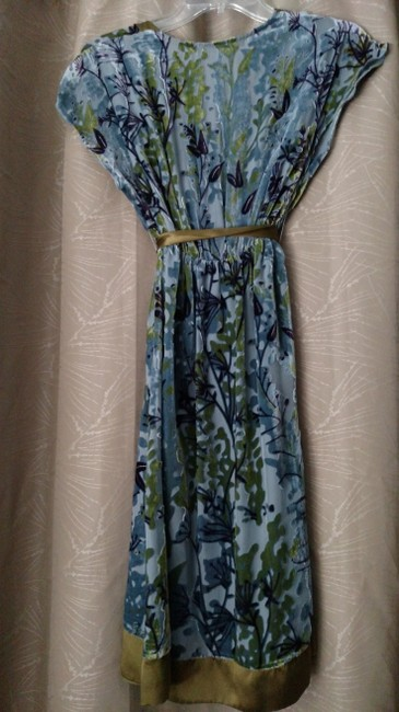 Hale Bob short dress Green, blue Spring Fit And Flare on Tradesy