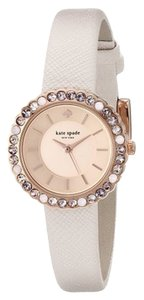 Kate Spade kate spade new york Women's Cornelia Natural Leather Strap Watch 27mm 1YRU0742