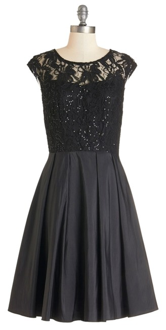 Preload https://item5.tradesy.com/images/modcloth-black-knee-length-cocktail-dress-size-8-m-4010599-0-0.jpg?width=400&height=650