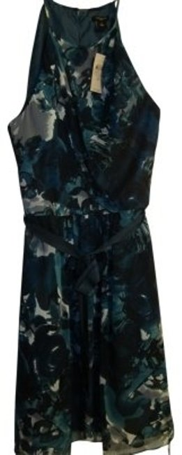 Preload https://item3.tradesy.com/images/ann-taylor-teal-style-243394-lovely-shoulder-baring-eve-knee-length-night-out-dress-size-10-m-40107-0-0.jpg?width=400&height=650