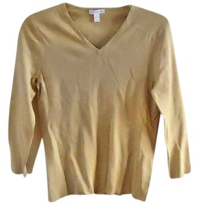 Charter Club Silk Cotton V-neck Sweater