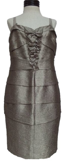 Preload https://item5.tradesy.com/images/anne-klein-dress-taupe-4011139-0-0.jpg?width=400&height=650
