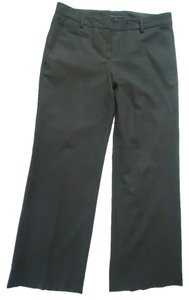 Theory Wool Gabardine Trouser Pants charcoal gray