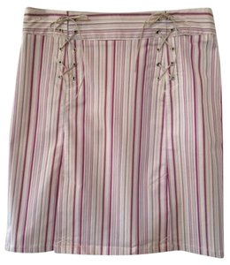 ALDO TREVI Skirt Pink, White, Multi