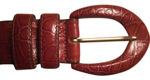Ellen Tracy Italian Leather Designer Belt