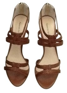 Alexandre Birman Brown Python Sandals